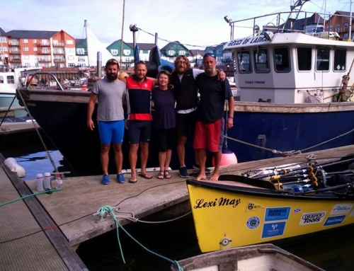 ERC meet Around the UK Charity rowers