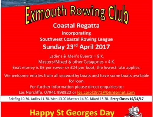 ERC APRIL REGATTA